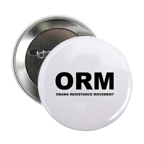 """Obama Resistance Movement 2.25"""" Button (10 pack)"""