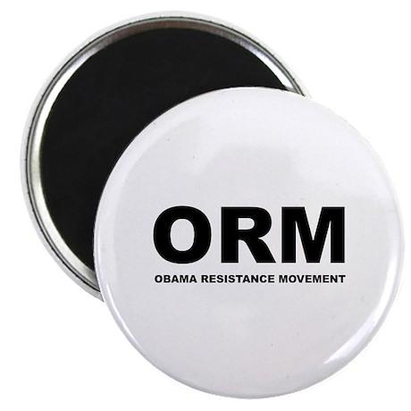 "Obama Resistance Movement 2.25"" Magnet (10 pack)"