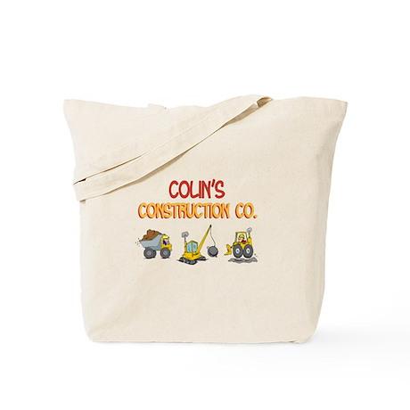 Colin's Construction Tractors Tote Bag