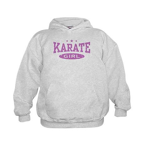 Karate Girl Kids Hoodie