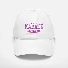 Karate Girl Baseball Baseball Cap