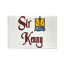 Sir Kenny Rectangle Magnet