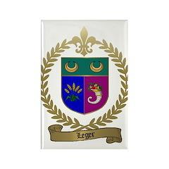 LEGER Family Rectangle Magnet (100 pack)