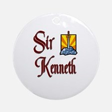 Sir Kenneth Ornament (Round)