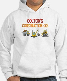 Colton's Construction Tractor Hoodie