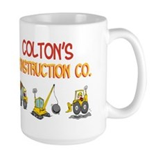Colton's Construction Tractor Mug