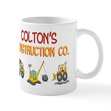 Colton's Construction Tractor Small Mugs