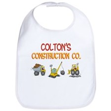 Colton's Construction Tractor Bib