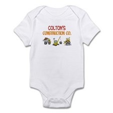 Colton's Construction Tractor Infant Bodysuit