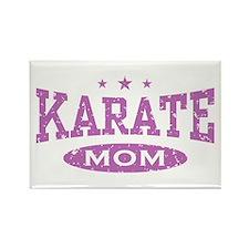 Karate Mom Rectangle Magnet