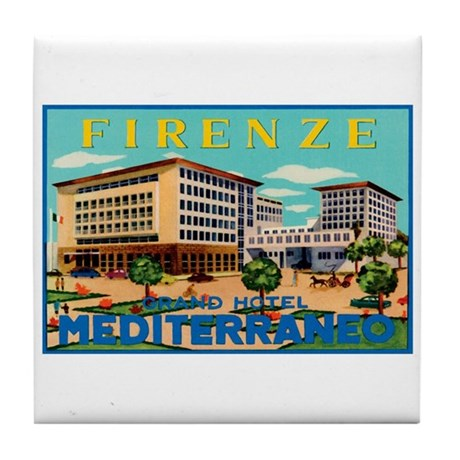 Florence Firenze Italy Tile Coaster