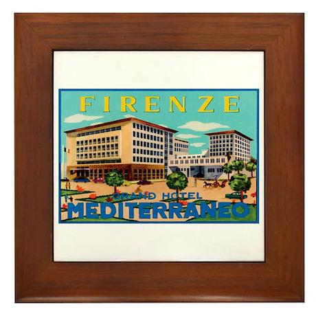 Florence Firenze Italy Framed Tile