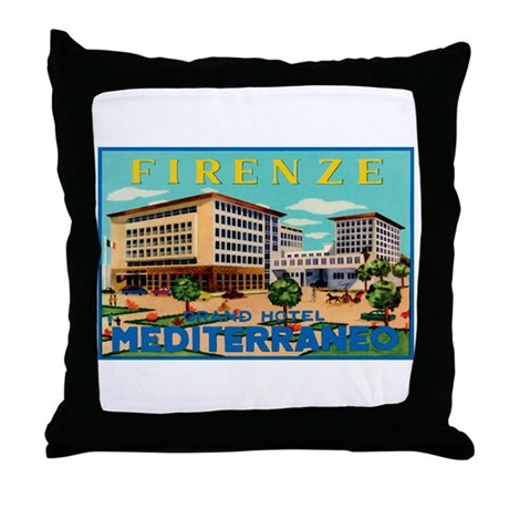 Florence Firenze Italy Throw Pillow