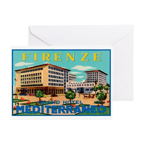 Florence Firenze Italy Greeting Cards (Pk of 10)