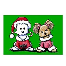 Mr. & Mrs. Santa Paws Postcards (Package of 8)