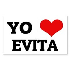 Amo (i love) Evita Rectangle Decal