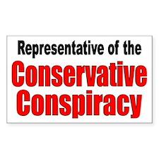 Conspiracy Rectangle Decal
