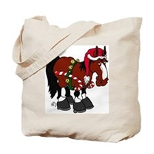 Don't Ask Christmas Horse Tote Bag