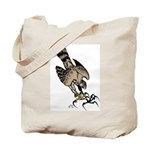 Falcon Talons Out Tote Bag