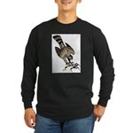 Falcon Talons Out Long Sleeve Dark T-Shirt