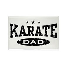 Karate Dad Rectangle Magnet