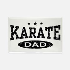 Karate Dad Rectangle Magnet