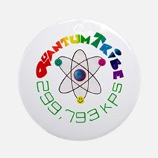 Quantum Tribe Ornament (Round)