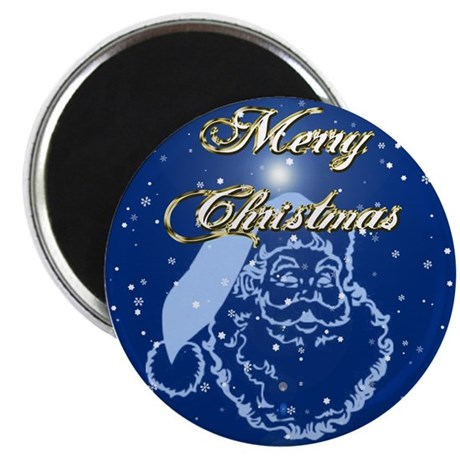 "Merry Christmas 2.25"" Magnet (100 pack)"