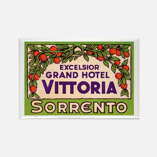 Sorrento Campania Italy Rectangle Magnet