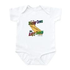Unique Happycow Infant Bodysuit