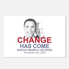 OBAMA SHOPS: Postcards (Package of 8)