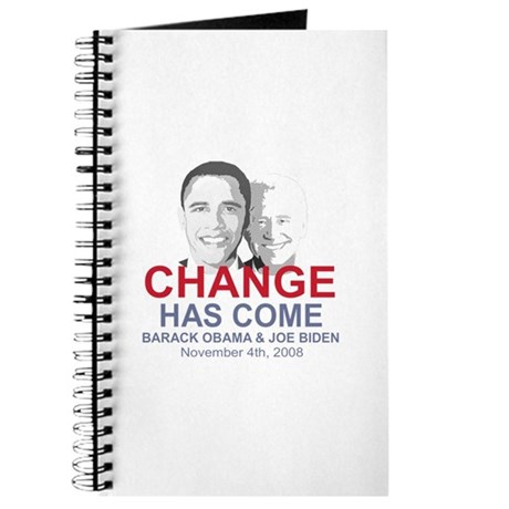 OBAMA SHOPS: Journal