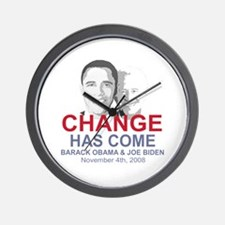 OBAMA SHOPS: Wall Clock