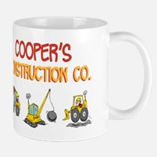 Cooper's Construction Tractor Mug