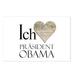 Obama Biden 2008 Postcards (Package of 8)