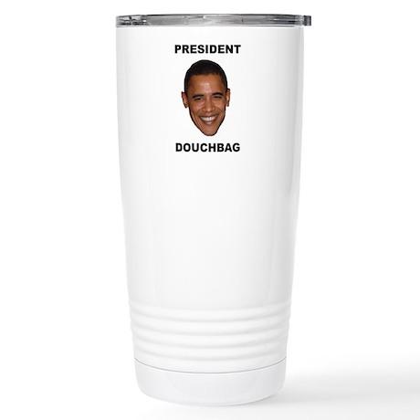 President Douchebag Stainless Steel Travel Mug