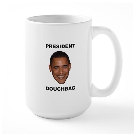 President Douchebag Large Mug