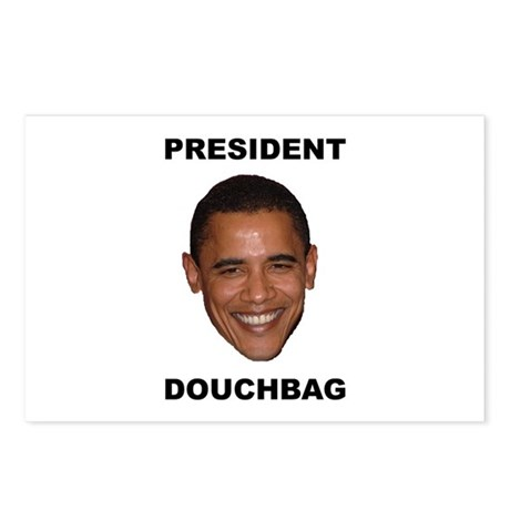 President Douchebag Postcards (Package of 8)
