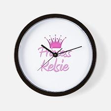 Princess Kelsie Wall Clock