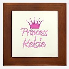 Princess Kelsie Framed Tile