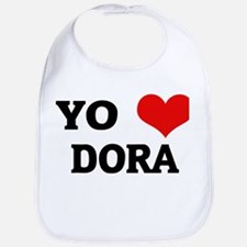 Amo (i love) Dora Bib