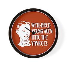 Well-bred... Yankees Wall Clock