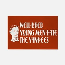 Well-bred... Yankees Rectangle Magnet