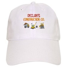 Declan's Construction Tractor Baseball Cap