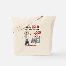 Bald 2 Brain Cancer (SFT) Tote Bag