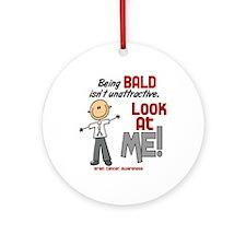 Bald 2 Brain Cancer (SFT) Ornament (Round)