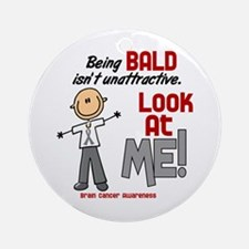 Bald 2 Brain Cancer (SFT) Ornament (Round)