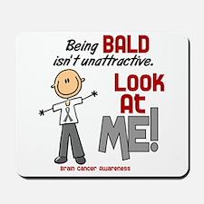 Bald 2 Brain Cancer (SFT) Mousepad