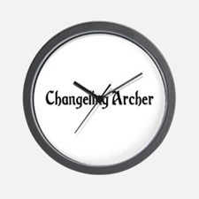 Changeling Archer Wall Clock