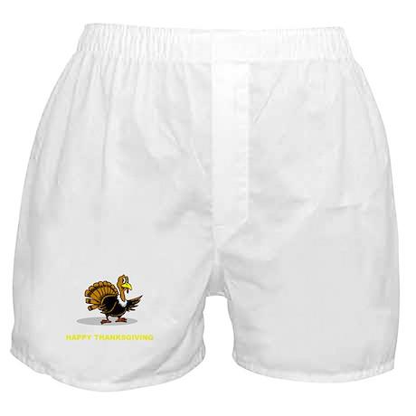 Happy Thanksgiving Boxer Shorts